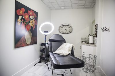 Waxing room representing Kate Avalon Day Spa & Salon
